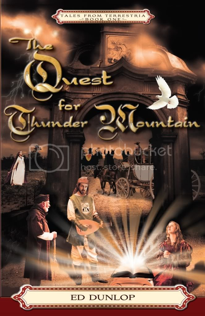 The Quest for Thunder Mountain cover